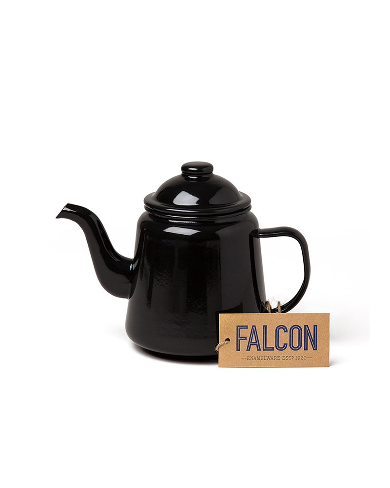 TEA POT COAL BLACK