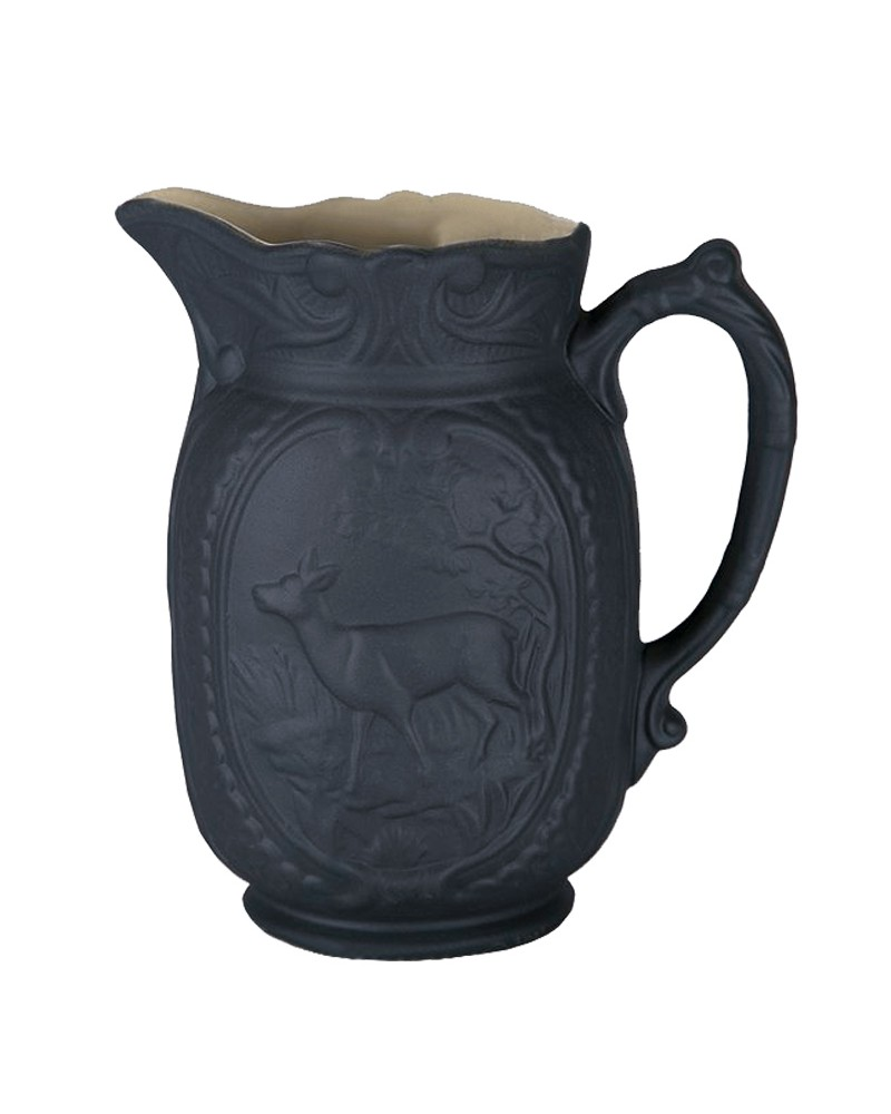 MATTE DEER PITCHER