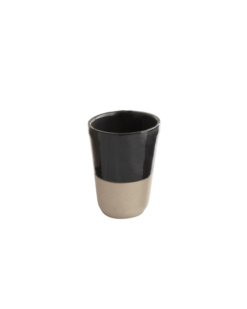 SMALL FÈVE TONKA STONEWARE CUP